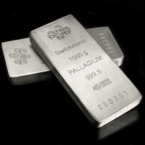 1 Kilo Palladium Bar prices